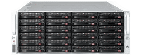JBOD Storage with 45 drive bays