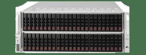 JBOD Storage with 88 drive bays