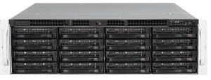 JBOD Storage with 28 disk drive bays