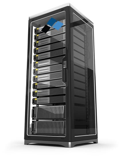 Lucid Technology Server rack