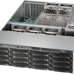 RN2316 NAS Storage Server Angled Front view