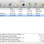 cluStore window (MAC)