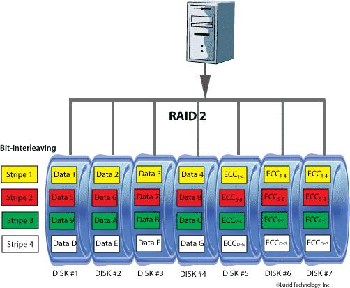 RAID 2 Diagram