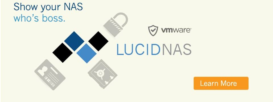 LucidNAS Storage Software / ZFS NAS